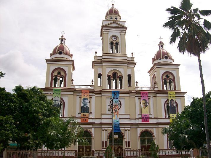 La Catedral Nuestra Señora del Rosario en Espinal